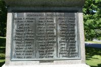 Derry, New Hampshire civil war soldiers honorably discharged